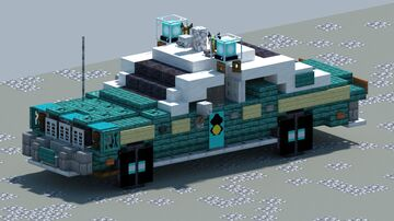 Plymouth Fury, Police car [With Download] Minecraft Map & Project