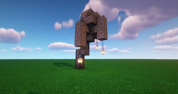 Dead Tree Minecraft Map & Project