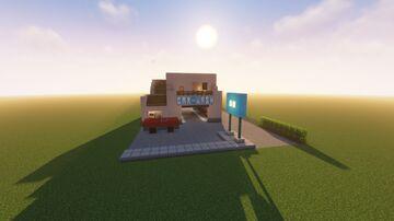 Car wash Minecraft Map & Project