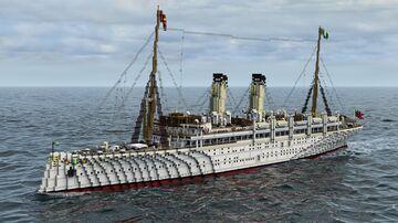 RSY DIMITRESCU (Yacht) Minecraft Map & Project