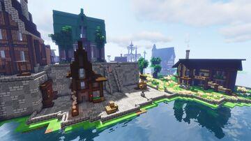 Fairvon village Minecraft Map & Project