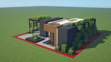 25x25 Modern House [DOWNLOAD] Minecraft Map & Project