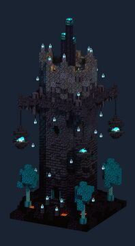 One Chunk Nether Tower Minecraft Map & Project