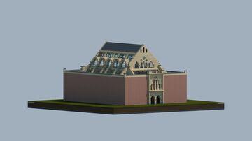Bourse of Antwerp (with interior), Antwerp, Belgium Minecraft Map & Project
