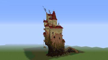 Concept art Castle Minecraft Map & Project