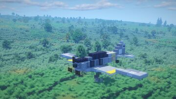1.5:1 Scale CAC Wirraway Minecraft Map & Project