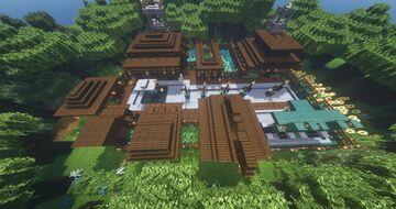 Mini Melon Village Minecraft Map & Project