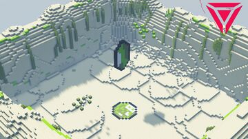Emerlad Arena Map [FREE DOWNLOAD] Minecraft Map & Project