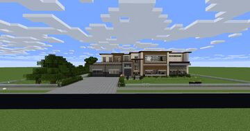 Mansion (1.12.2) MODDED Minecraft Map & Project