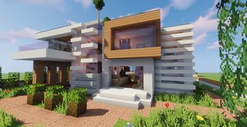 Top 5 Modern House #2 (Map + Schematic) Minecraft Map & Project