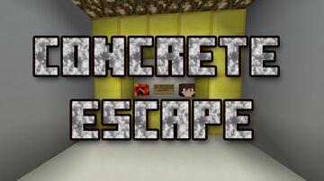 Concrete Escape Minecraft Map & Project