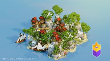 Red Kingdom Lobby Minecraft Map & Project