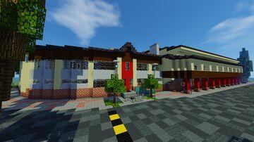 Zespół Szkół w Dobrzeniu Wielkim Minecraft Map & Project