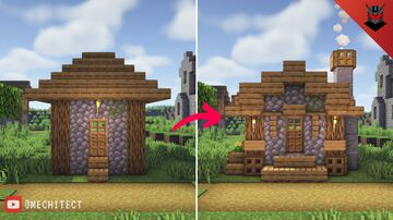 Small Village House Transformation Minecraft Map & Project