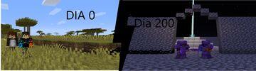 200 days in minecraft java Minecraft Map & Project