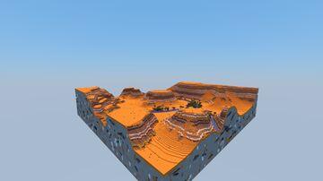 Just a regular plateau mesa. Minecraft Map & Project