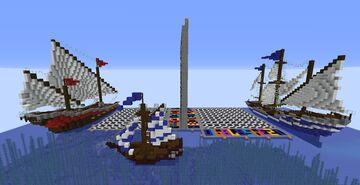 Battleship! Minecraft Map & Project