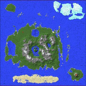 Boxten Peninsula Minecraft Map & Project