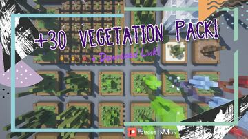 +30 Vegetation Ideas!   Medium Vegetation Pack [1.16.X - 1.17.X] [Download Link] Minecraft Map & Project