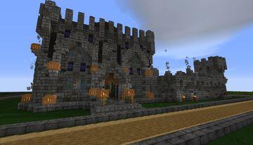 Medieval Castle - Medium - Plot Build Minecraft Map & Project