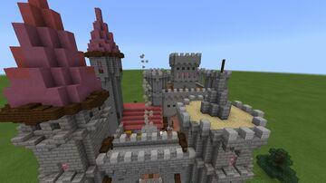 Castle Noobington Revamp JAVA Minecraft Map & Project