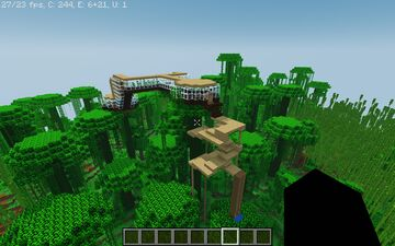 Tree house thingy Minecraft Map & Project