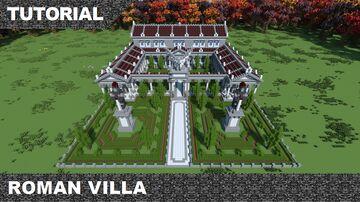 Roman Villa +Tutorial Minecraft Map & Project