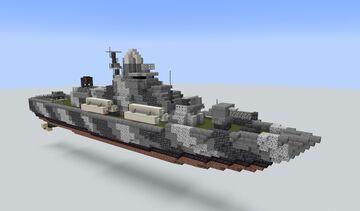 Nanuchka-class corvette (1:1) Minecraft Map & Project