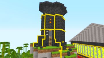 The Floating Tower Minecraft Map & Project