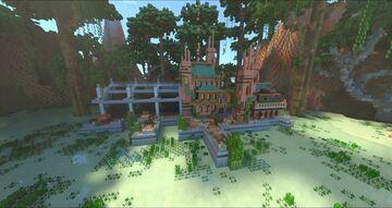 Mini Lake Town Minecraft Map & Project