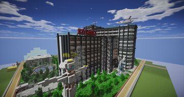 Deepa || Medical Centre Minecraft Map & Project