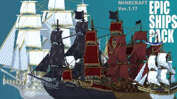 Epic Ships Pack [Download] Minecraft Map & Project