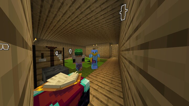 Helping my friend to enchant his stuff.