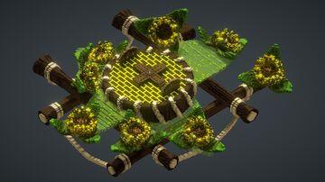 Skyblock sunflower hub Minecraft Map & Project