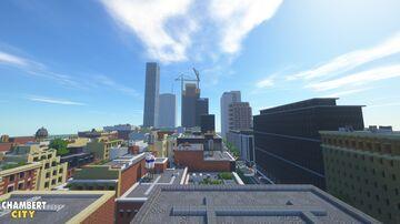 Chambert City Skyline view Minecraft Map & Project