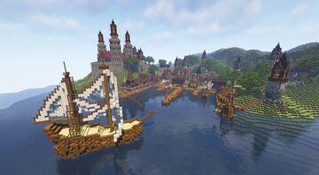 Wanderer's Isle [Uyora] Minecraft Map & Project