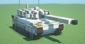 Leclerc S1 (1.5:1 scale) Minecraft Map & Project
