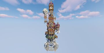 Steampunk House Minecraft Map & Project