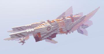 Spaceship - Avali Papillon Minecraft Map & Project