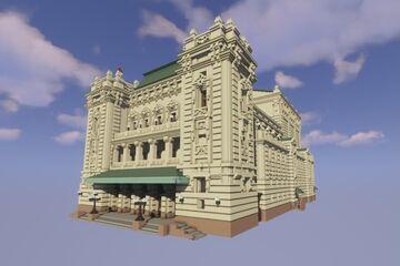 National Theatre in Belgrade /Народно Позориште у Београду Minecraft Map & Project