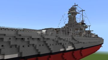 KMS Admiral Graf Spee 1:1 Minecraft Map & Project