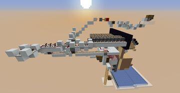 Brown Mushroom Farm (tnt/afk) Minecraft Map & Project