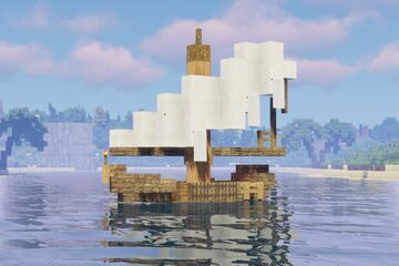 Shanty Sail Boats + Download Minecraft Map & Project