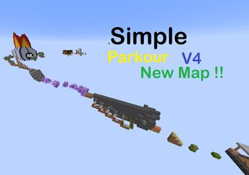 Simple Parkour V4 Minecraft Map & Project
