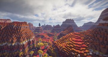 Psychedelic Mars Minecraft Map & Project