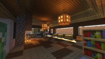 Mansion House Minecraft Map & Project