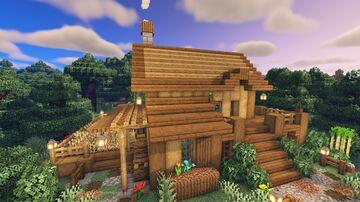 Starter survival house / Casa para supervivencia Minecraft Map & Project