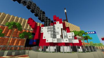 The Rock N Roller Coaster Starring: Aerosmith! (1.16.3 and up) (Recource pack link in desc) Minecraft Map & Project