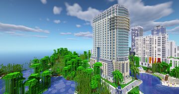 Sabadell Financial Center Miami (Java 1.16.3) Minecraft Map & Project