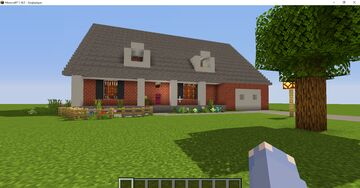 Modern Brick House 1.16.5 Minecraft Map & Project
